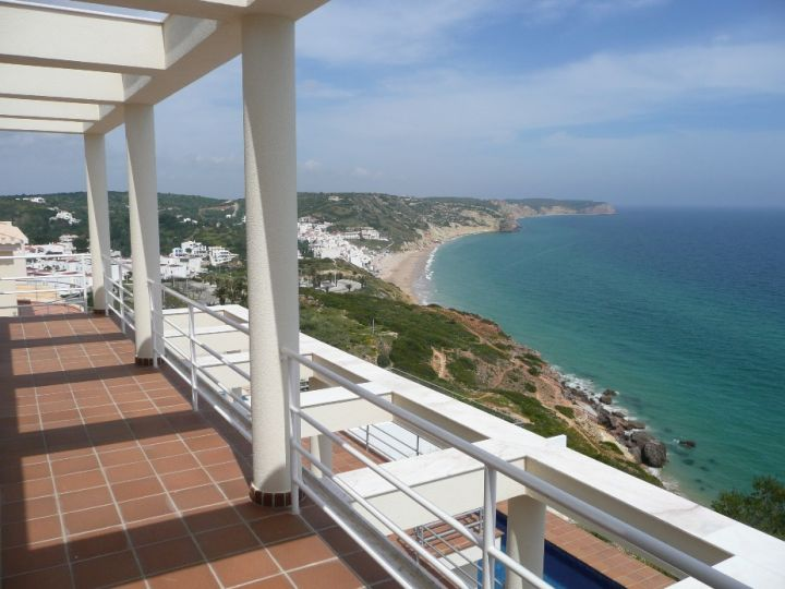 View from house in the Algarve