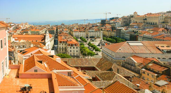 A popular but perhaps overpriced area for Golden Visa applicants: Baixa, Lisbon