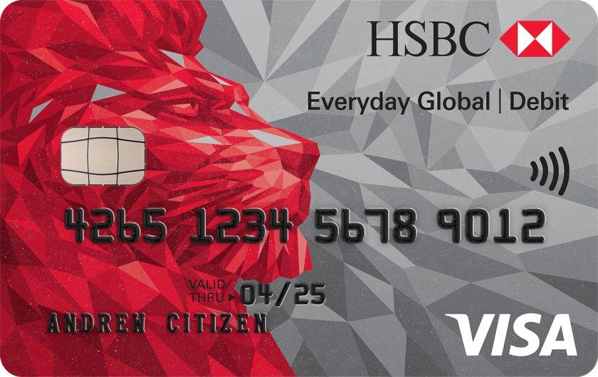 HSBC Everyday Global Visa Debit Card
