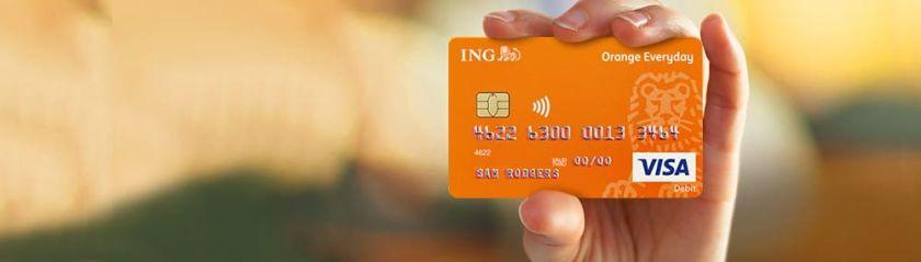 ING Orange Everyday Visa Debit card