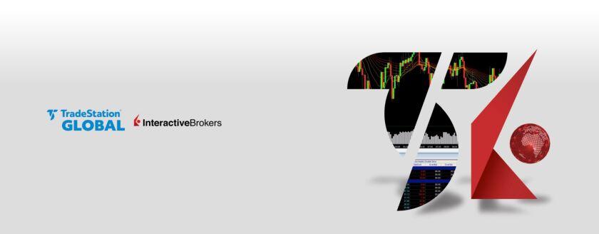 TradeStation and Interactive Brokers logos